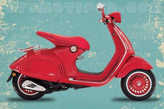 Harga Motor Vespa 946 Red