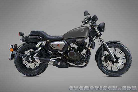 Gambar Benelli Motobi 200 Evo