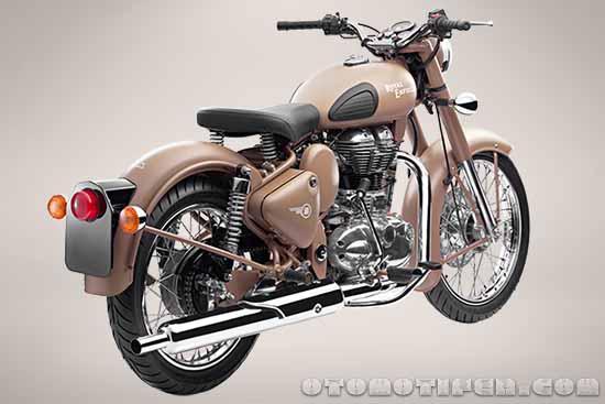 Spesifikasi dan Harga Motor Royal Enfield Classic Desert Strom