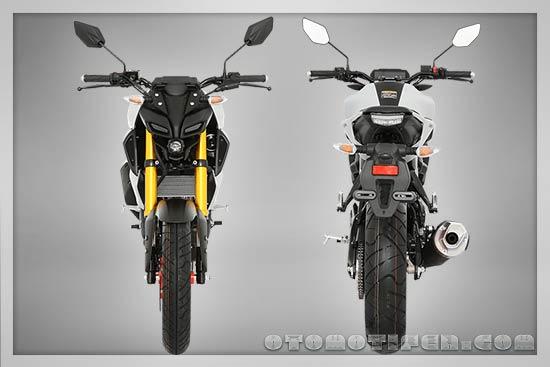 Desain Yamaha MT-15