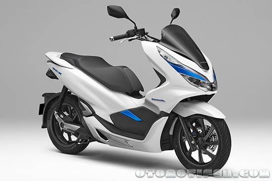 Gambar Honda PCX Electric