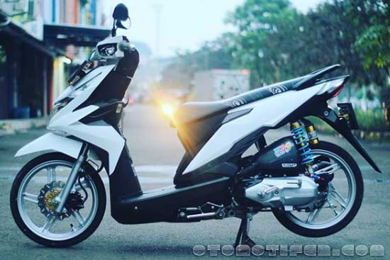 Modifikasi Honda Beat FI Simple