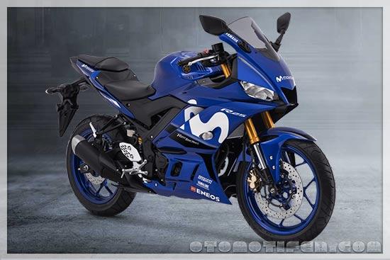 Gambar Motor Sport Yamaha R25 Movistar