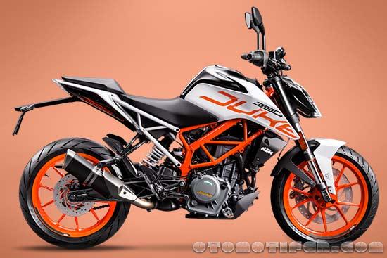 Harga Motor KTM Duke 390