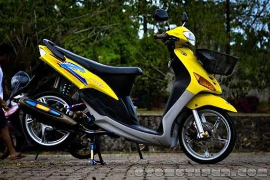 modifikasi motor beat  babylook thailook