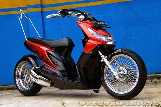 Honda Beat Modifikasi Ekstrim