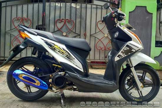 200 Modifikasi Motor Beat 2020 Babylook Thailook Simple Otomotifer