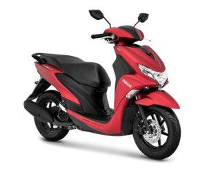 Warna Yamaha FreeGo Matte Red