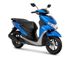 Warna Yamaha FreeGo Metallic Blue
