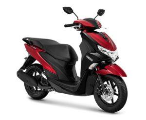 Warna Yamaha FreeGo Metallic Red