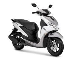 Warna Yamaha FreeGo Metallic White