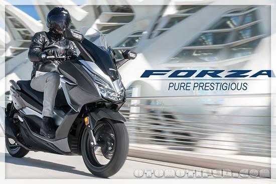Desain Honda Forza