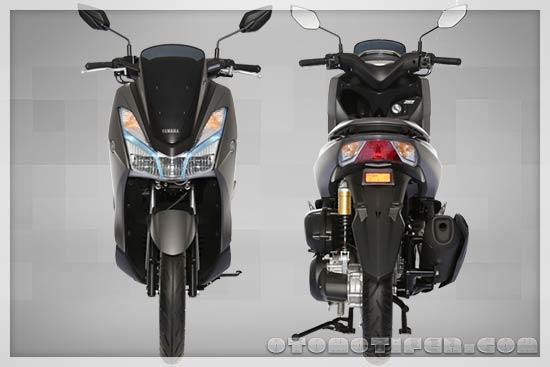 Desain Motor Yamaha Lexi