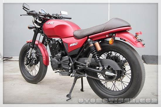 Gambar Motor Retro Modern Viar Vintech 250