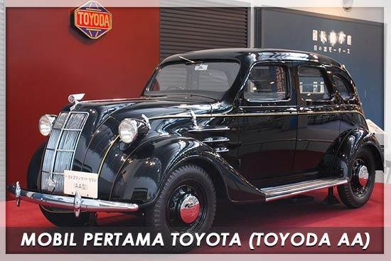 Mobil Pertama Toyota