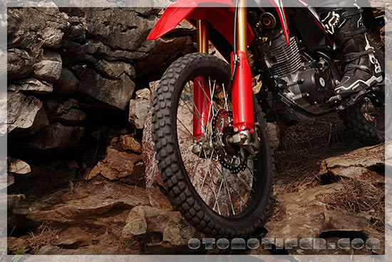 Upside Down Honda CRF150L