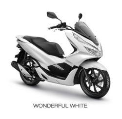 Warna Honda PCX Putih