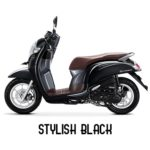 Warna Honda Scoopy Stylish Black