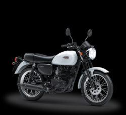 Warna Kawasaki W175 Putih