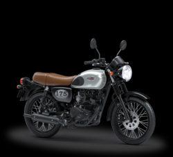 Warna Kawasaki W175 Silver