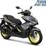 Warna Yamaha Aerox 155 Abu-Abu
