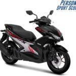 Warna Yamaha Aerox 155 Hitam