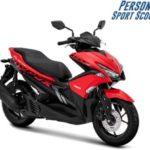 Warna Yamaha Aerox 155 Merah