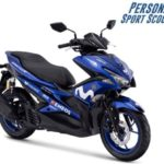 Warna Yamaha Aerox R-Version Movistar