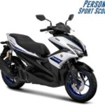Warna Yamaha Aerox R-Version Silver