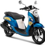 Warna Yamaha Fino Sporty Biru