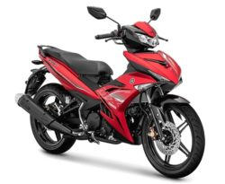 Warna Yamaha Jupiter MX King Merah