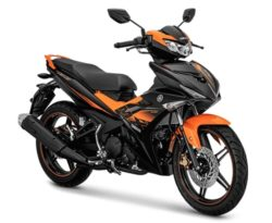 Warna Yamaha Jupiter MX King Orange