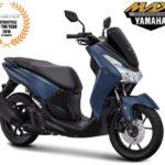 Warna Yamaha Lexi Biru