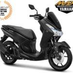 Warna Yamaha Lexi Hitam