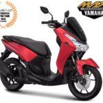 Warna Yamaha Lexi Merah