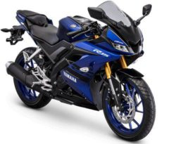 Warna Yamaha R15 Biru