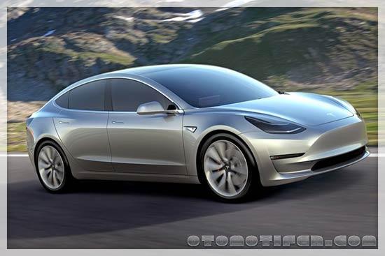 Gambar Gambar Mobil Tesla Model 3 Long Range