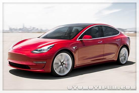 Gambar Mobil Tesla Model 3 Performance