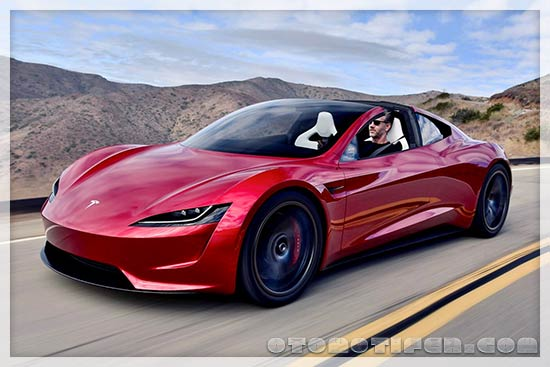 Gambar Mobil Tesla Roadster