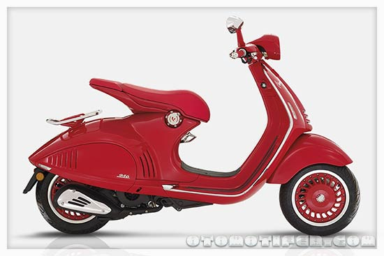 Motor Matic Vespa 946 Red