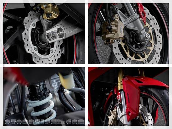 Suspensi Honda CBR250RR