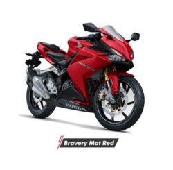 Warna Honda CBR250RR Bravery Mat Red