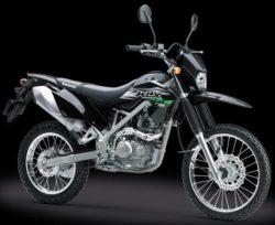 Warna KLX 150 Hitam