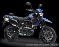 Warna Kawasaki D-Tracker X Biru