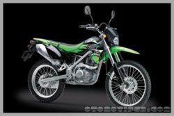 Warna Kawasaki KLX 150 BF