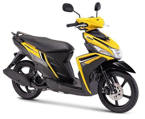 Warna Mio M3 125 Kuning