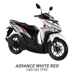 Warna Motor Vario 125 White Red