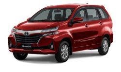 Warna Toyota Avanza Merah