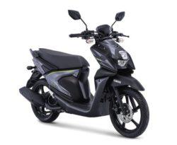 Warna Yamaha X-Ride 125 Hitam