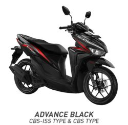 warna Honda Vario 125 Advance Black